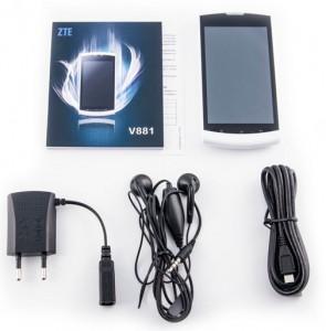 Комплектация ZTE V881