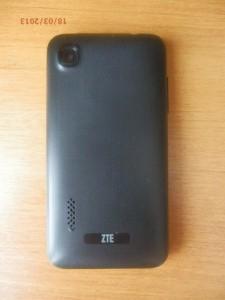 Задняя сторона ZTE Blade C