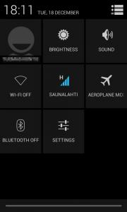 скриншот настроек