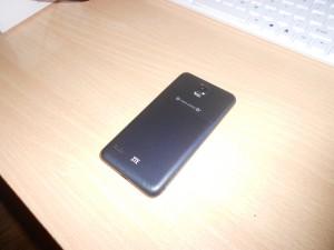 Обзор ZTE U950 задняя сторона
