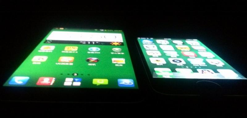 ZTE Grand S (V988) vs Iphone4