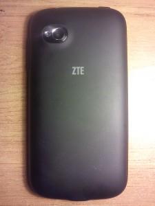 Фото смартфона ZTE V809 Blade C2 - задняя сторона