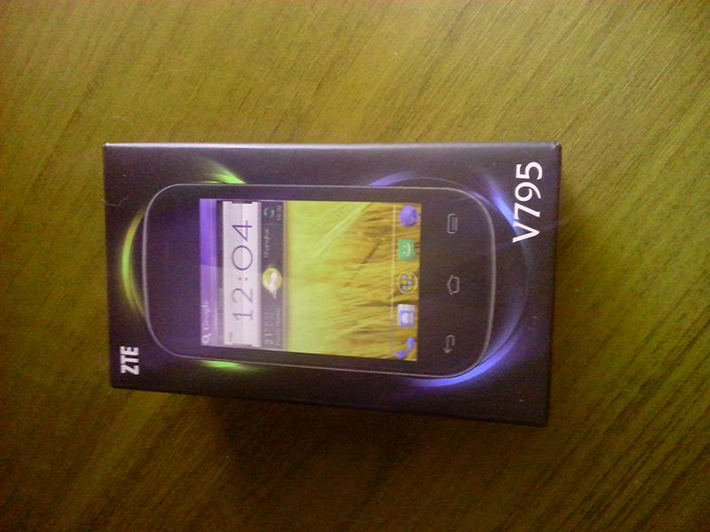 Коробка ZTE V795
