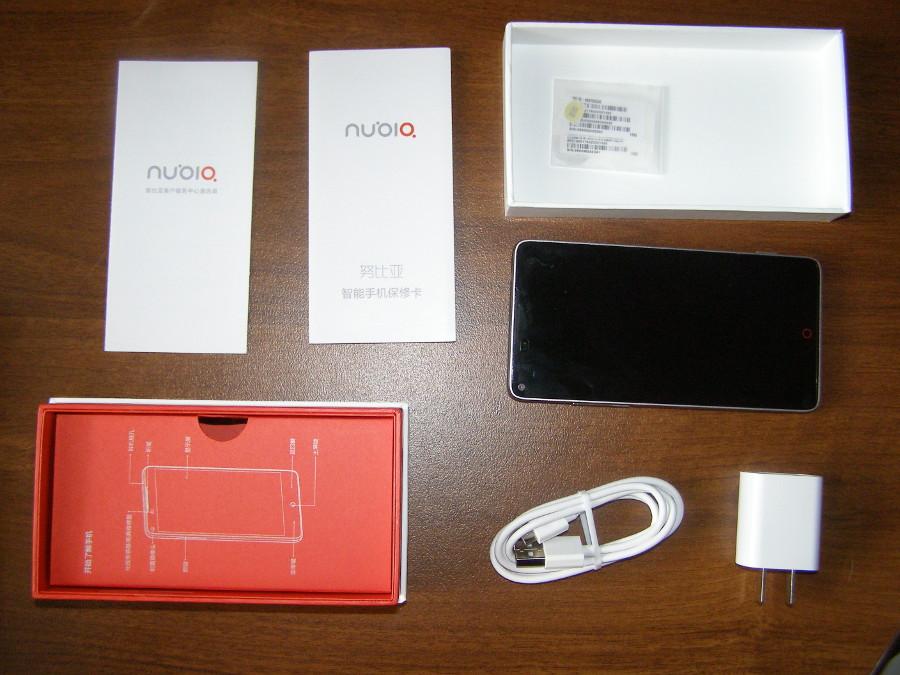 Комплектация смартфона ZTE Nubia Z5S (32Gb)