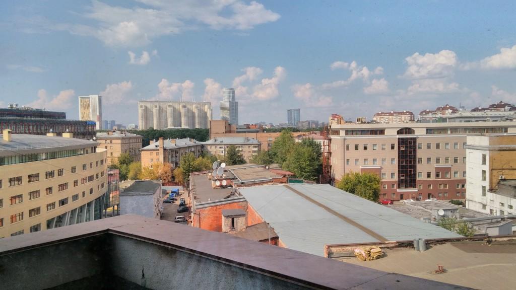 Фото из окна с HDR