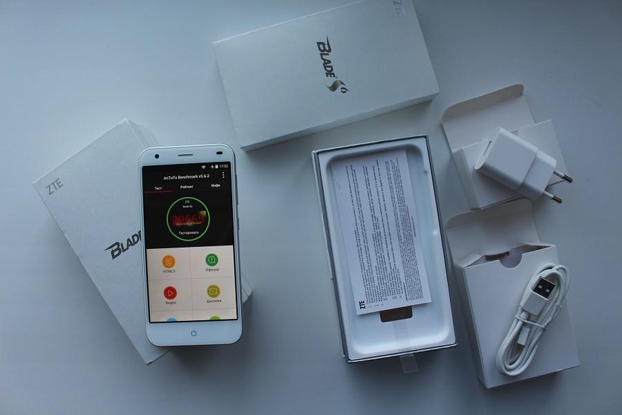 Обзор смартфона ZTE Blade S6